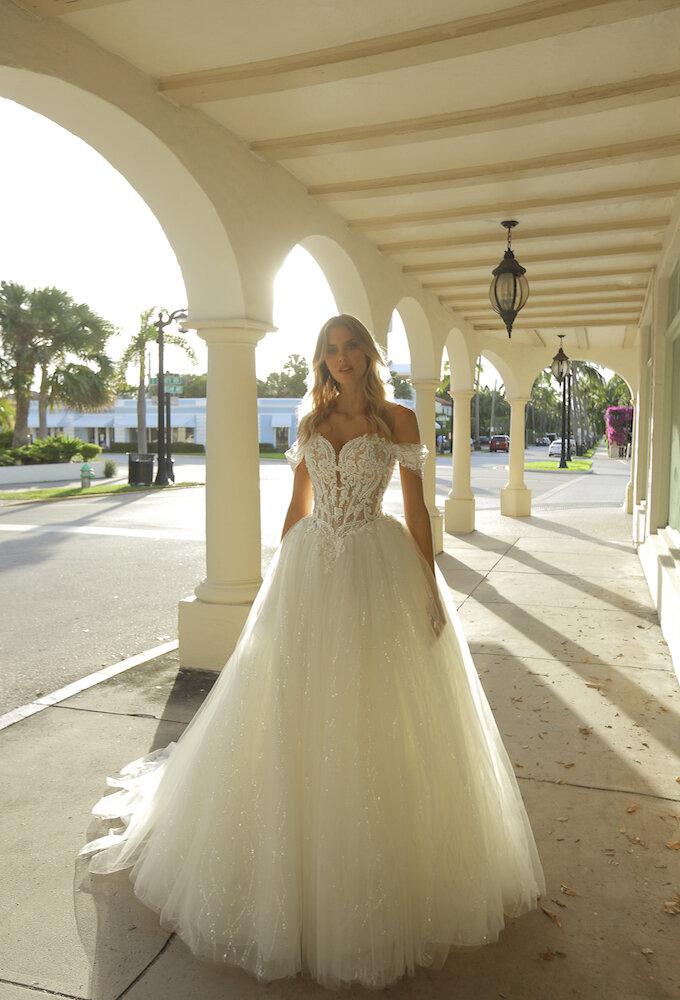 Randy Fenoli Antoinette Orlando ballgown wedding dress
