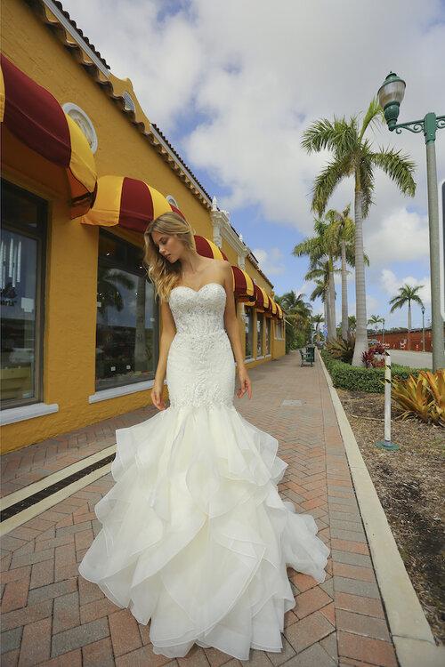 Randy Fenoli wedding dress Ariel